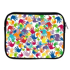 Volunteers Hands Voluntary Wrap Apple Ipad 2/3/4 Zipper Cases by Celenk