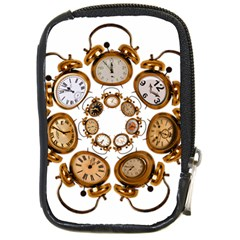 Time Clock Alarm Clock Time Of Compact Camera Cases by Celenk