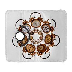 Time Clock Alarm Clock Time Of Galaxy S3 (flip/folio) by Celenk
