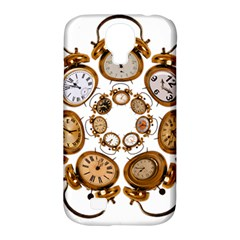Time Clock Alarm Clock Time Of Samsung Galaxy S4 Classic Hardshell Case (pc+silicone) by Celenk