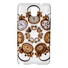 Time Clock Alarm Clock Time Of Samsung Galaxy Note 3 N9005 Hardshell Case by Celenk