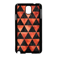 Triangle3 Black Marble & Copper Paint Samsung Galaxy Note 3 Neo Hardshell Case (black) by trendistuff