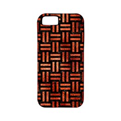 Woven1 Black Marble & Copper Paint (r) Apple Iphone 5 Classic Hardshell Case (pc+silicone) by trendistuff