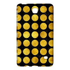 Circles1 Black Marble & Gold Paint (r) Samsung Galaxy Tab 4 (8 ) Hardshell Case  by trendistuff