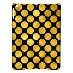 Circles2 Black Marble & Gold Paint (r) Ipad Air Hardshell Cases by trendistuff