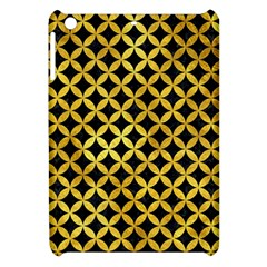 Circles3 Black Marble & Gold Paint (r) Apple Ipad Mini Hardshell Case by trendistuff