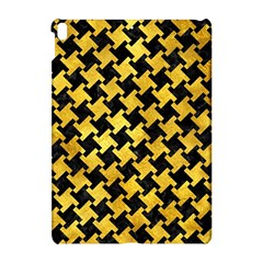Houndstooth2 Black Marble & Gold Paint Apple Ipad Pro 10 5   Hardshell Case by trendistuff