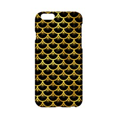 Scales3 Black Marble & Gold Paint (r) Apple Iphone 6/6s Hardshell Case by trendistuff