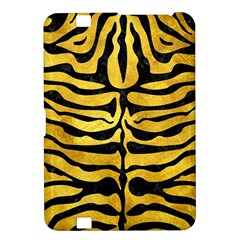 Skin2 Black Marble & Gold Paint Kindle Fire Hd 8 9  by trendistuff
