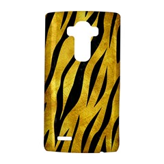 Skin3 Black Marble & Gold Paint Lg G4 Hardshell Case by trendistuff