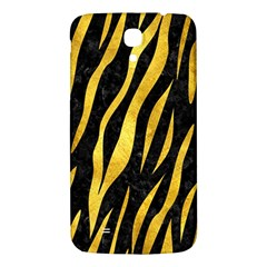 Skin3 Black Marble & Gold Paint (r) Samsung Galaxy Mega I9200 Hardshell Back Case by trendistuff