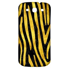 Skin4 Black Marble & Gold Paint Samsung Galaxy S3 S Iii Classic Hardshell Back Case by trendistuff