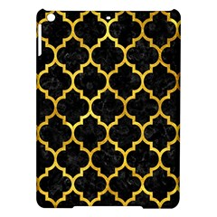 Tile1 Black Marble & Gold Paint (r) Ipad Air Hardshell Cases by trendistuff