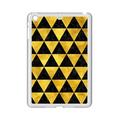 Triangle3 Black Marble & Gold Paint Ipad Mini 2 Enamel Coated Cases by trendistuff