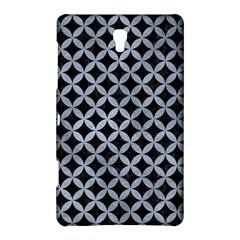 Circles3 Black Marble & Silver Paint (r) Samsung Galaxy Tab S (8 4 ) Hardshell Case