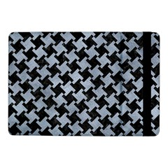 Houndstooth2 Black Marble & Silver Paint Samsung Galaxy Tab Pro 10 1  Flip Case by trendistuff