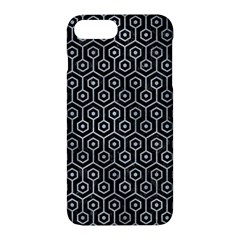 Hexagon1 Black Marble & Silver Paint (r) Apple Iphone 7 Plus Hardshell Case by trendistuff