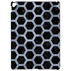 Hexagon2 Black Marble & Silver Paint (r) Apple Ipad Pro 12 9   Hardshell Case by trendistuff