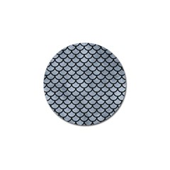Scales1 Black Marble & Silver Paint Golf Ball Marker (10 Pack) by trendistuff