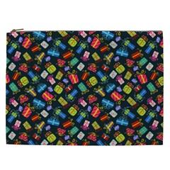 Christmas Pattern Cosmetic Bag (xxl)  by tarastyle