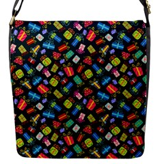 Christmas Pattern Flap Messenger Bag (s) by tarastyle