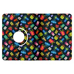 Christmas Pattern Kindle Fire Hdx Flip 360 Case by tarastyle