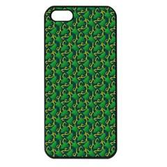 Christmas Pattern Apple Iphone 5 Seamless Case (black) by tarastyle