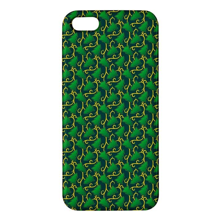 Christmas Pattern Apple iPhone 5 Premium Hardshell Case