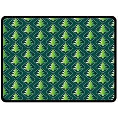 Christmas Pattern Double Sided Fleece Blanket (large)  by tarastyle