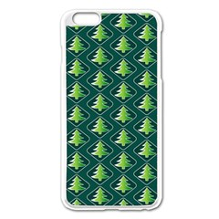 Christmas Pattern Apple Iphone 6 Plus/6s Plus Enamel White Case by tarastyle
