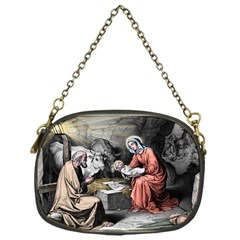 The Birth Of Christ Chain Purses (one Side)  by Valentinaart