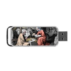 The Birth Of Christ Portable Usb Flash (one Side) by Valentinaart