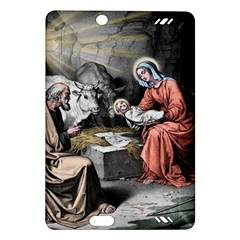 The Birth Of Christ Amazon Kindle Fire Hd (2013) Hardshell Case by Valentinaart