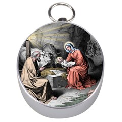 The Birth Of Christ Silver Compasses by Valentinaart