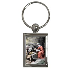 The Birth Of Christ Key Chains (rectangle)