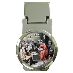 The Birth Of Christ Money Clip Watches by Valentinaart