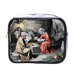 The Birth Of Christ Mini Toiletries Bags by Valentinaart