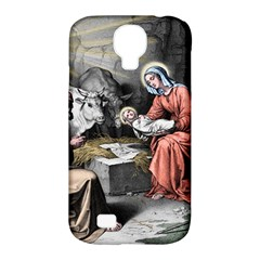 The Birth Of Christ Samsung Galaxy S4 Classic Hardshell Case (pc+silicone) by Valentinaart