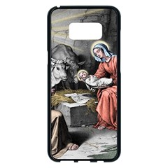 The Birth Of Christ Samsung Galaxy S8 Plus Black Seamless Case by Valentinaart