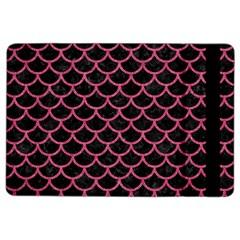 Scales1 Black Marble & Pink Denim (r) Ipad Air 2 Flip by trendistuff