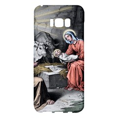 The Birth Of Christ Samsung Galaxy S8 Plus Hardshell Case  by Valentinaart