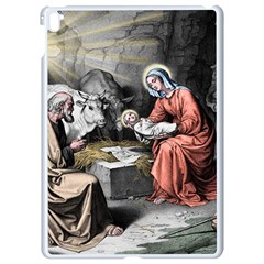 The Birth Of Christ Apple Ipad Pro 9 7   White Seamless Case by Valentinaart