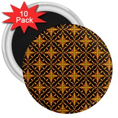 Christmas Pattern 3  Magnets (10 Pack)  by tarastyle