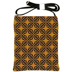 Christmas Pattern Shoulder Sling Bags by tarastyle