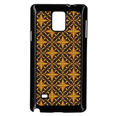 Christmas Pattern Samsung Galaxy Note 4 Case (black) by tarastyle