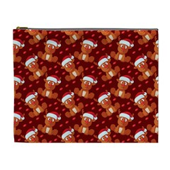 Christmas Pattern Cosmetic Bag (xl) by tarastyle