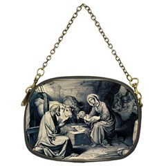 The Birth Of Christ Chain Purses (two Sides)  by Valentinaart