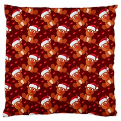 Christmas Pattern Standard Flano Cushion Case (two Sides) by tarastyle