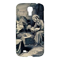 The Birth Of Christ Samsung Galaxy S4 I9500/i9505 Hardshell Case by Valentinaart