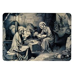 The Birth Of Christ Samsung Galaxy Tab 8 9  P7300 Flip Case by Valentinaart